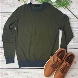 💚💙 MK OLIVE CREWS PULLOVER SWEATER 💚💙